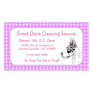 Great Dane Harle Fem Business Cards
