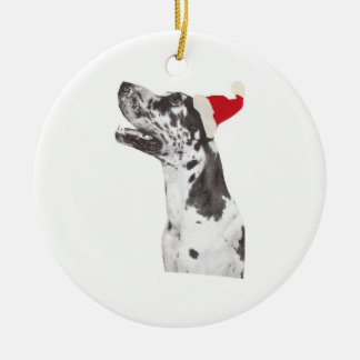 Great Dane Holiday Ornament