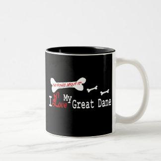 Great Dane I Love Mug