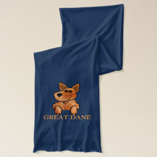 GREAT DANE Jersey Scarf