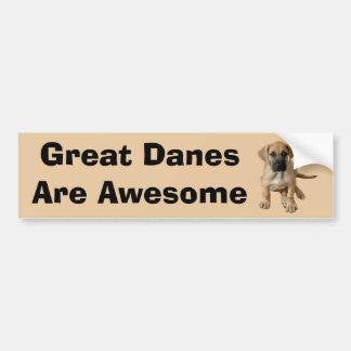 Great Dane King of Dogs Bumper Sticker Car Bumper Sticker