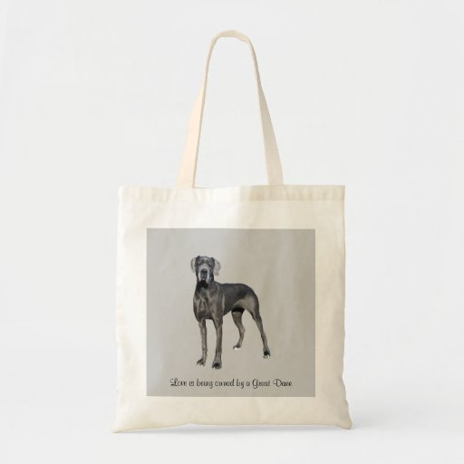 Great Dane King of Dogs Tote Bag