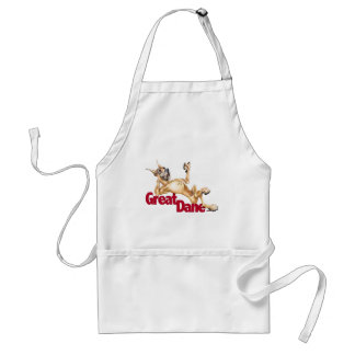 Great Dane Laid Back Fawn Standard Apron