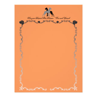 Great Dane Letterhead Heads 21.5 Cm X 28 Cm Flyer