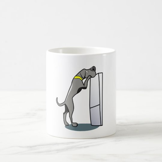 Great Dane Looking for Food Coffee Mug