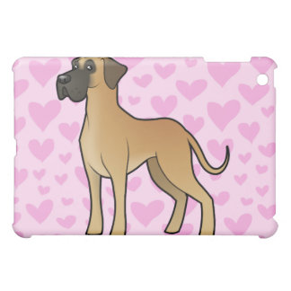 Great Dane Love (add your own pern) Case For The iPad Mini