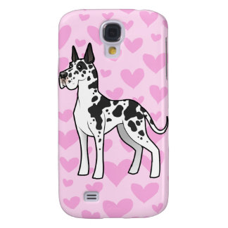 Great Dane Love (add your own pern) Galaxy S4 Case