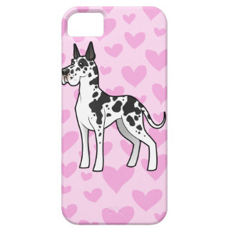 Great Dane Love (cropped) iPhone 5 Covers
