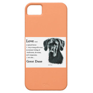 Great Dane Love Is Barely There iPhone 5 Case