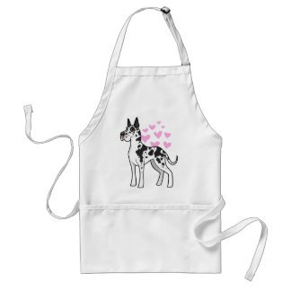 Great Dane Love Standard Apron