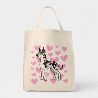 Great Dane Love Tote Bag