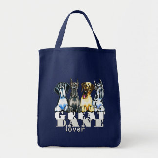 Great Dane Lover Canvas Bag