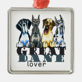 Great Dane Lover Christmas Ornament