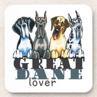 Great Dane Lover Beverage Coaster