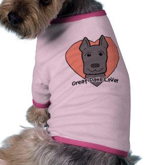 Great Dane Lover Dog T Shirt