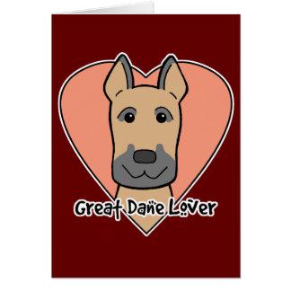 Great Dane Lover Greeting Card