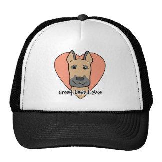 Great Dane Lover Mesh Hat