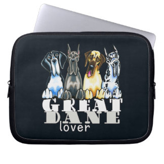 Great Dane Lover Laptop Computer Sleeves