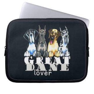 Great Dane Lover Laptop Computer Sleeves
