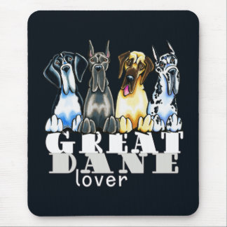 Great Dane Lover Mouse Pads