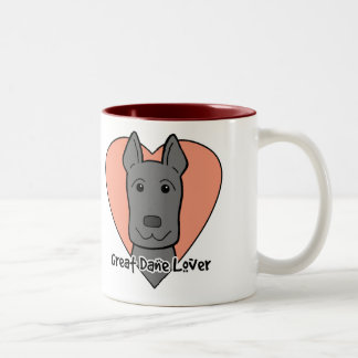 Great Dane Lover Coffee Mugs