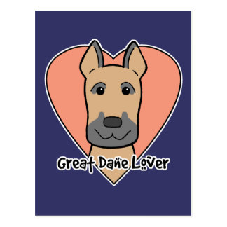 Great Dane Lover Postcard