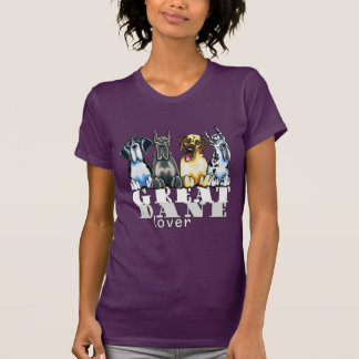 Great Dane Lover T Shirts