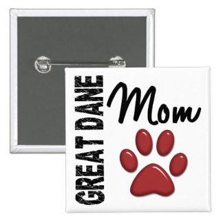 Great Dane Mom 2 Pins