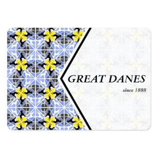 Great Dane Pattern Cards Pack Of Chubby Business Cards