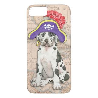 Great Dane Pirate iPhone 7 Case
