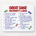 GREAT DANE Property Laws 2 Mouse Mat