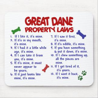 GREAT DANE Property Laws 2 Mouse Mat