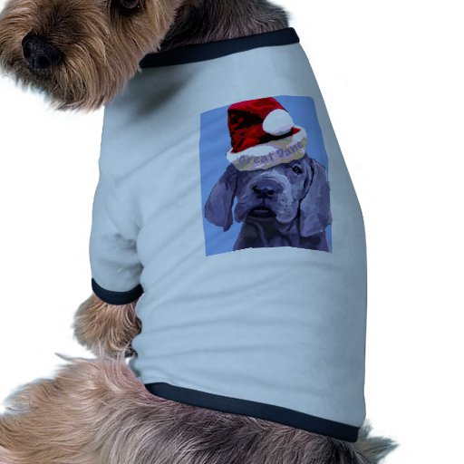 Great Dane Puppy Christmas Doggie Tee