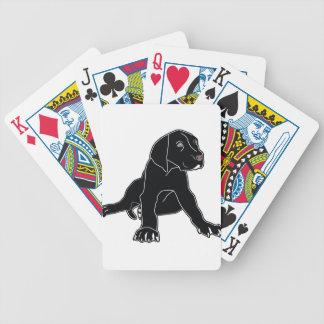 Great Dane Puppy Poker Cards