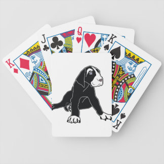 Great Dane Puppy Bicycle Poker Deck