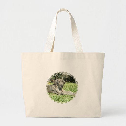 Great Dane Puppy Tote Bag