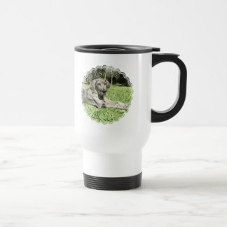 Great Dane Puppy Travel Mug
