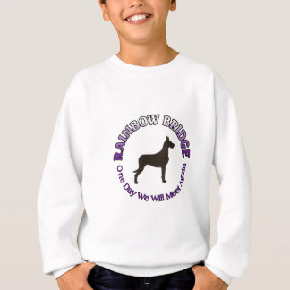 GREAT DANE RAINBOW BRIDGE SYMPATHY SWEATSHIRT