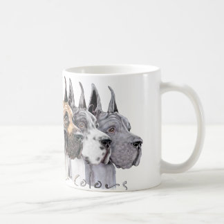 Great Dane Show Colors Group Coffee Mug