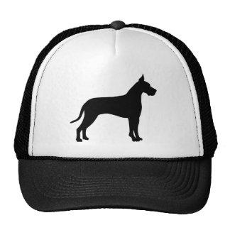 Great Dane Silhouette Hat