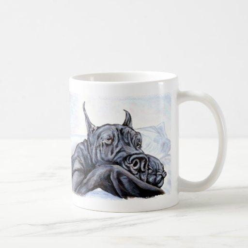 Great Dane Sofa Dreams Basic White Mug