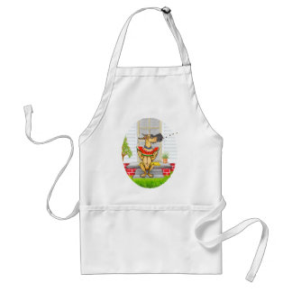 Great Dane SPIT Fawn Standard Apron