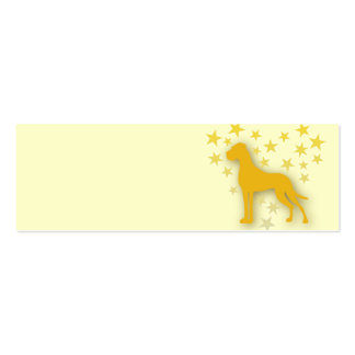 Great Dane Starheart Double-Sided Mini Business Cards (Pack Of 20)
