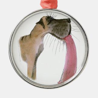 Great Dane, tony fernandes Christmas Ornament