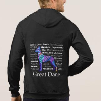 Great Dane Traits Hoodie