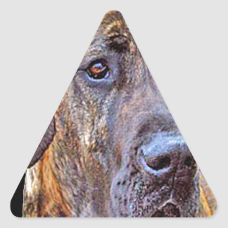 """Great Dane"" Triangle Sticker"