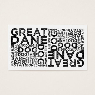 Great Dane Typography