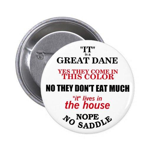 Great Dane Walking Answers Pin