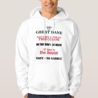 Great Dane Walking Answers Hoodie