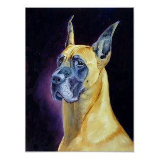 Great Dane Wall Print